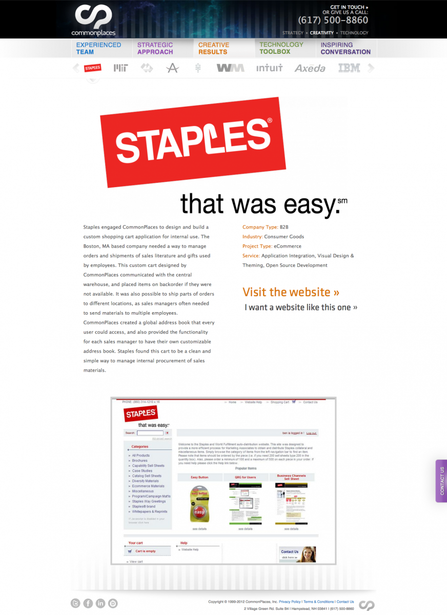 Staples Project