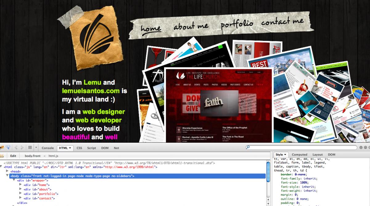 lemuelsantos.com