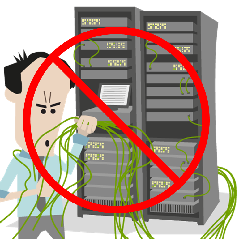 Moving servers to the cloud means no more maintenance to in-house servers