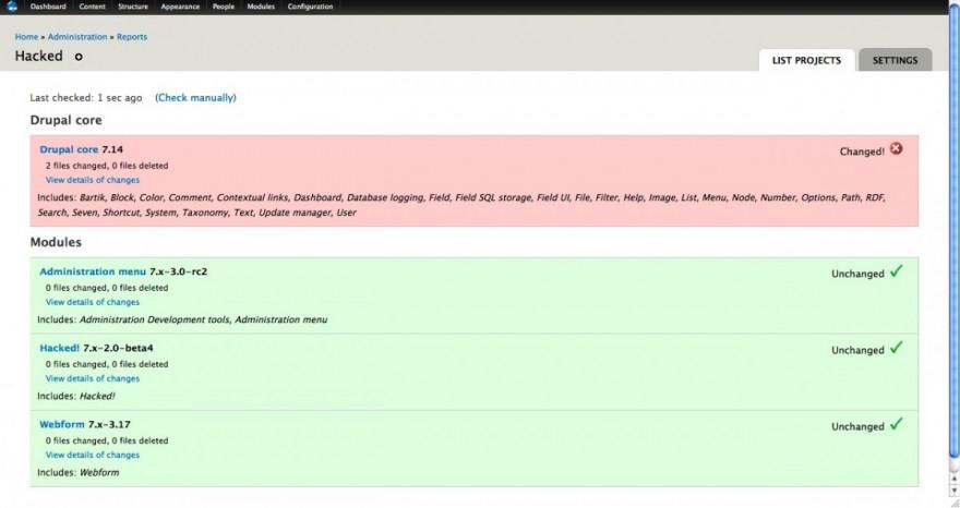 Drupal Hacked! Module