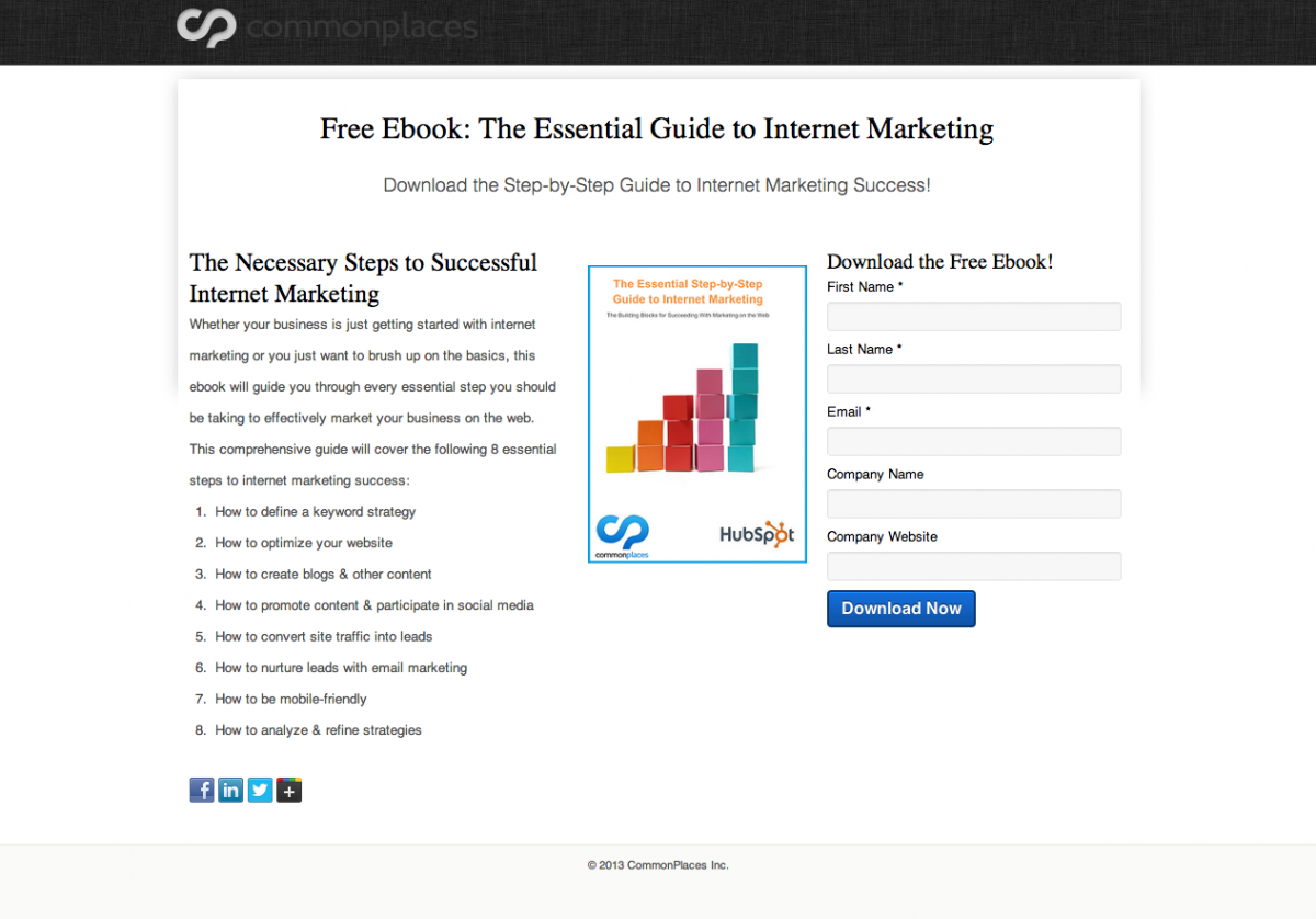 Free Ebook: The Essential Guide to Internet Marketing