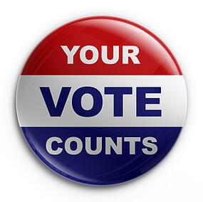 Every vote counts in the 2012 Presidential Election on November 6!