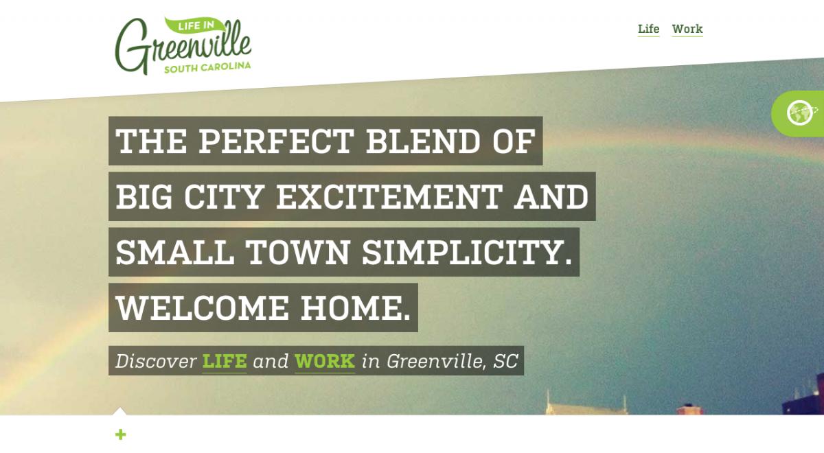 Greenville, SC Website