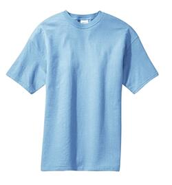 Blue men's t-shirt