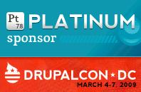DrupalCon 2009 Platinum Sponsor - CommonPlaces
