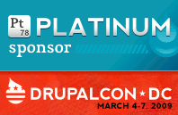 DrupalCon 2009 Platinum Sponsor - CommonPlaces