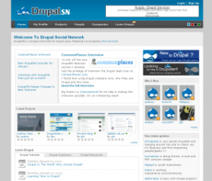 CommonPlaces was featured on DrupalSN, an online community for Drupal users and developers.