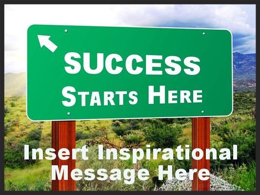 Success and inspiration