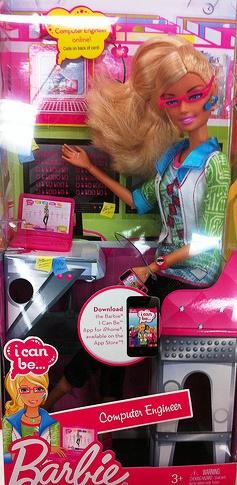 Computer engineer Barbie