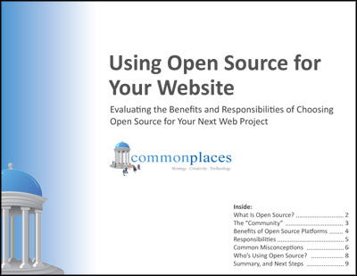 Using Open Source for Your Website
