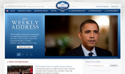 Whitehouse.gov Website