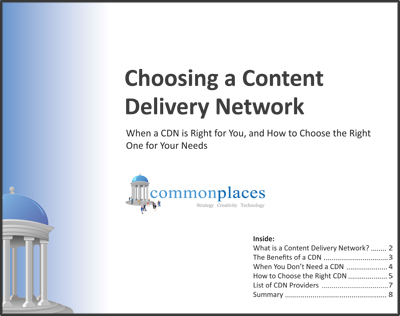 Choosing a Content Delivery Network Whitepaper Preview