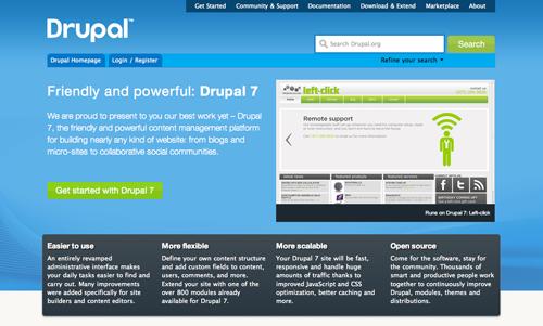 Drupal 7 Screenshot