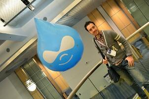 Our Senior Web Designer & Developer, Leum Santos, at DrupalCon 2012 in Denver