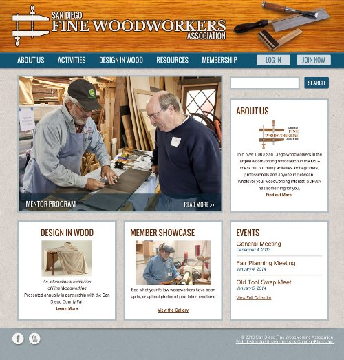San Diego Fine Woodworkers Association