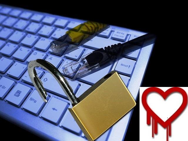 Heartbleed bug and security