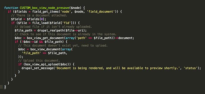 Drupal Module Screenshot 2
