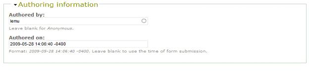 Drupal returns the username