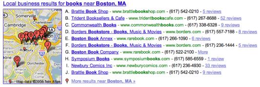 Books near Boston, MA