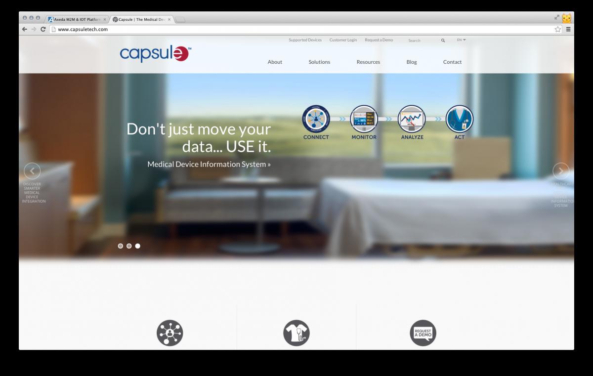 Capsule Website Preview