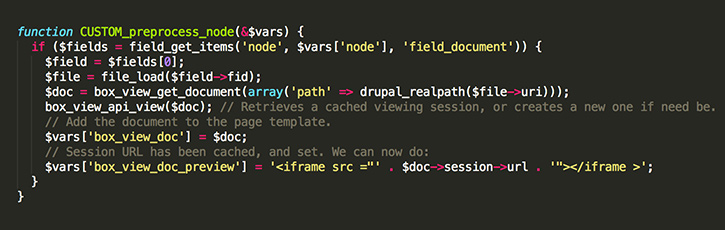 Drupal Module Screenshot 3