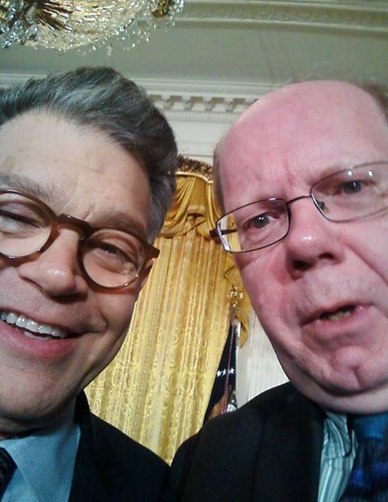 Senator Al Franken with Gary Locke