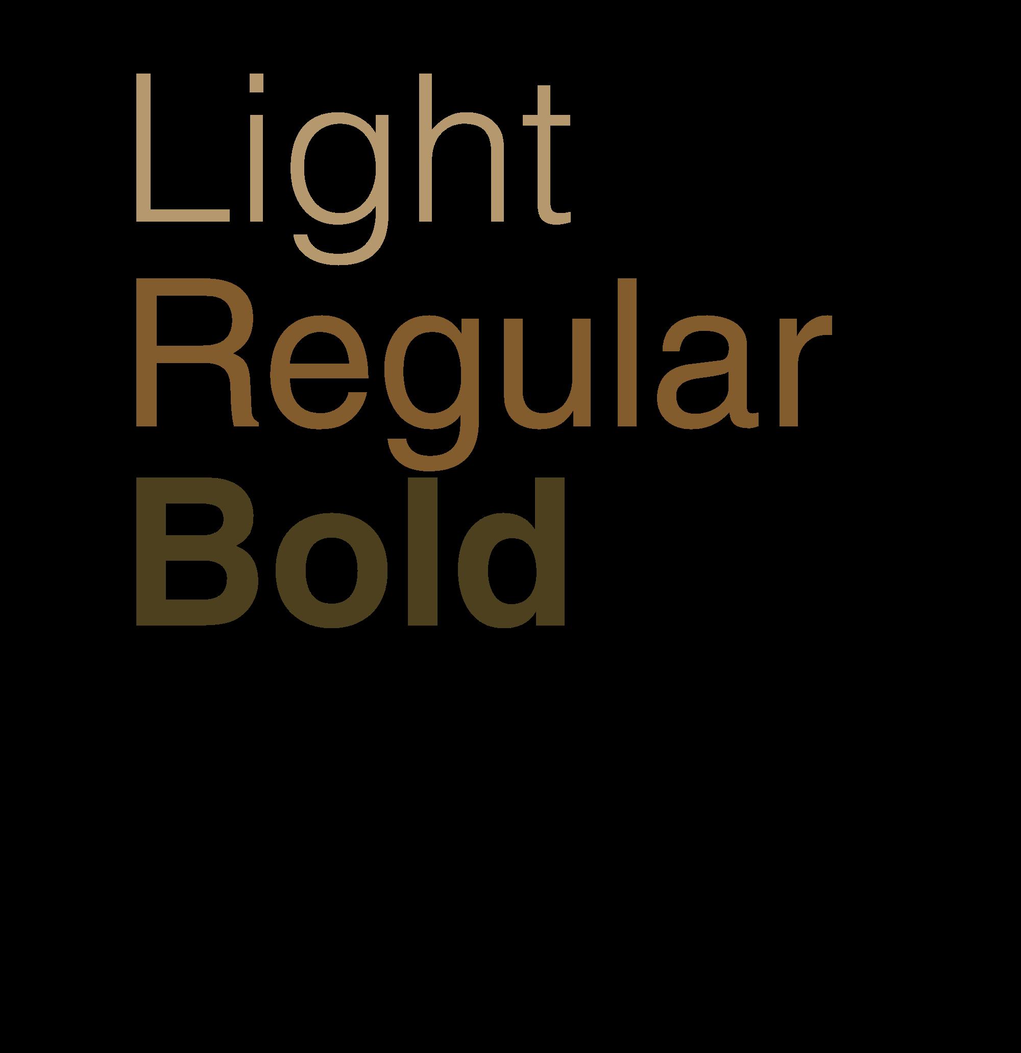 Bold Type Example