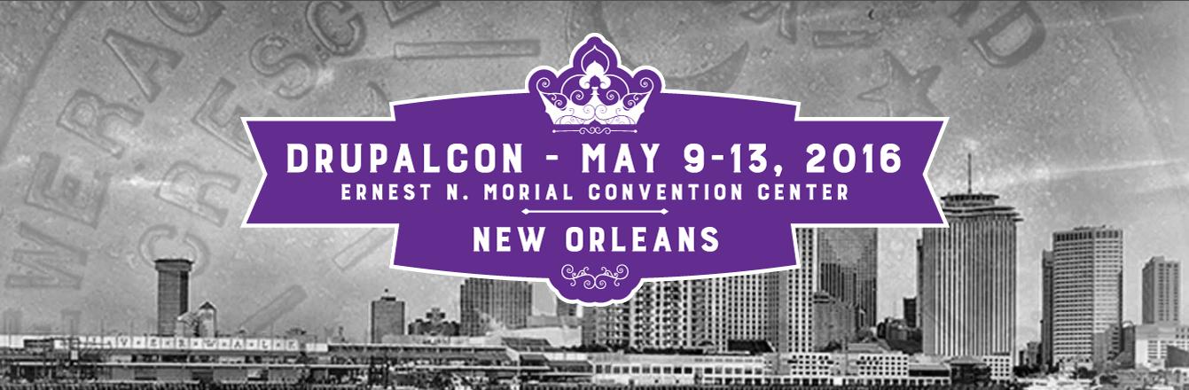 DrupalCon New Orleans Logo