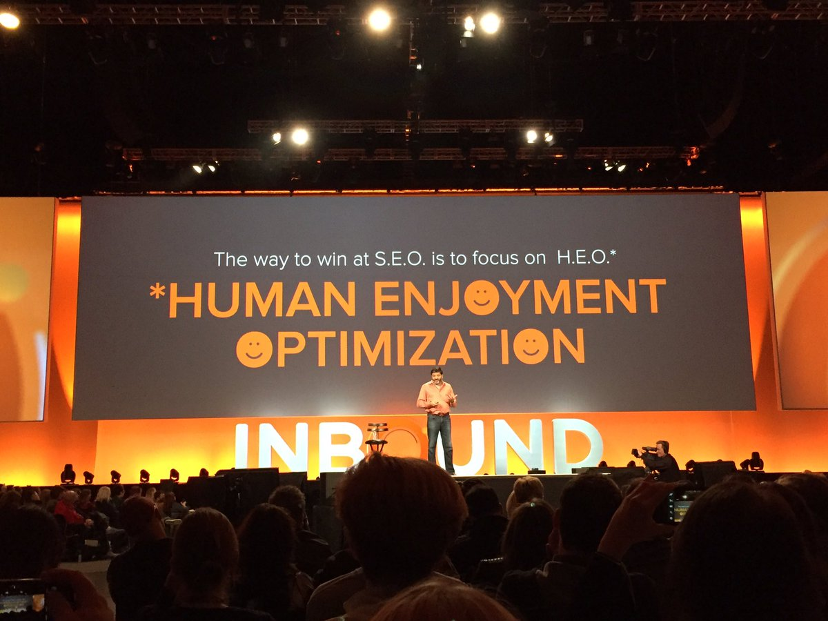 """""""The way to win at SEO is to focus on HEO."""" - Dharmesh Shah, Hubspot CTO"""