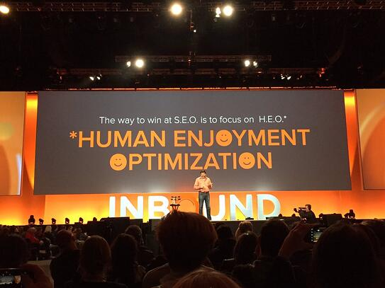 """The way to win at SEO is to focus on HEO."" - Dharmesh Shah, Hubspot CTO"