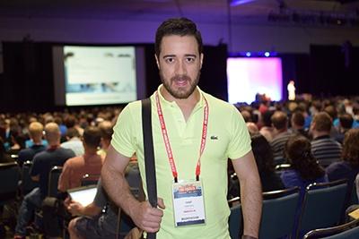 Lemu Santos at DrupalCon 2015