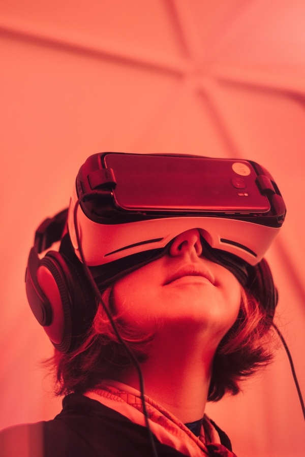 Try using virtual reality and 360 videos on your website.