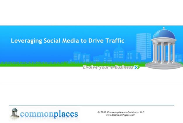 Leveraging Social Media to Drive Traffic Presentation
