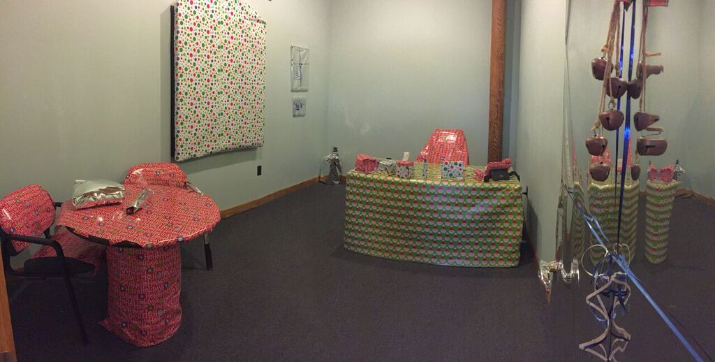 Gift Wrapped Office Prank