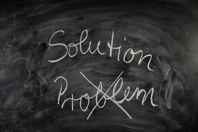 Turning problems into solutions.