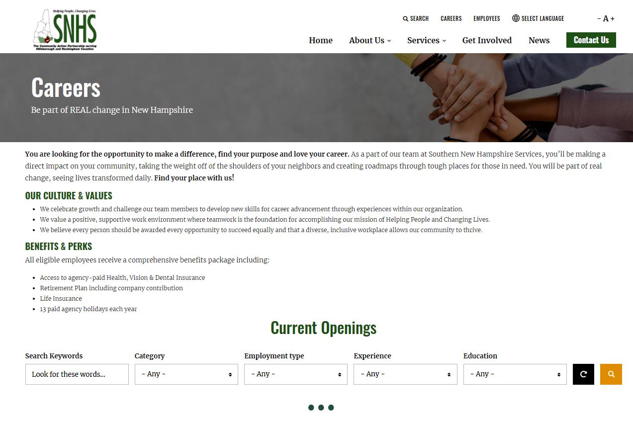 snhs-screenshot-employment-portal